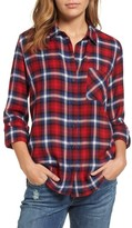 KUT from the Kloth Women's Fuji Plaid Paisley Back Shirt