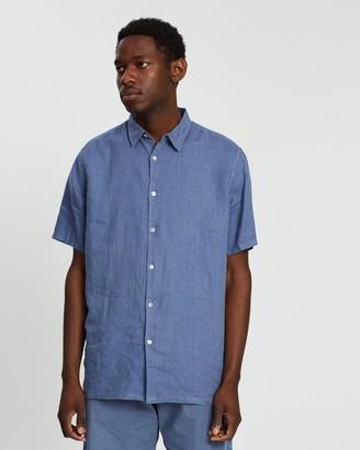 Assembly Label Estate Linen Short Sleeve Shirt