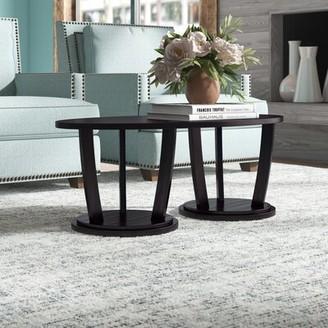 Akin Newport Solid Wood Abstract Coffee Table