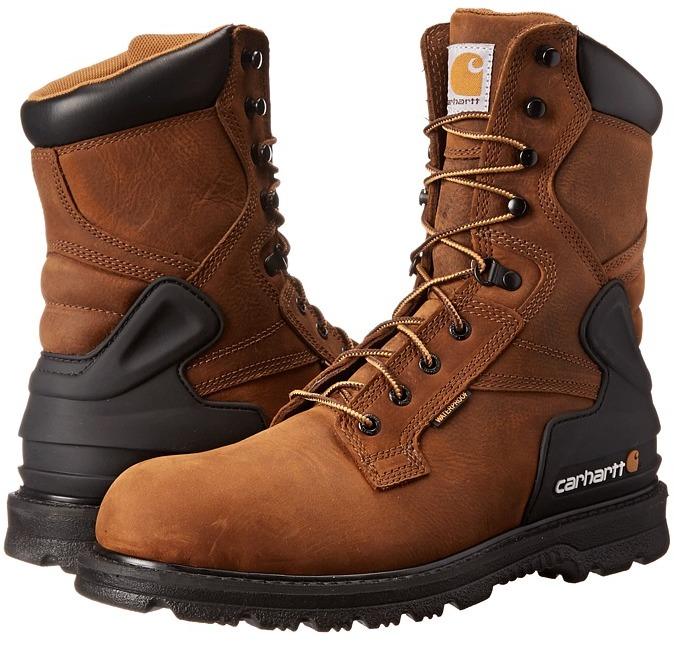 Carhartt CMW8100 8 Boot (Bison Brown) - Footwear