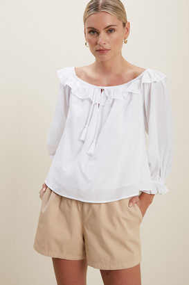 Seed Heritage Floaty Trapeze Blouse