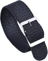 AUTULET Luxury Exquisite Braided Men's One-Piece Nato style Nylon Perlon Watch Bands Straps