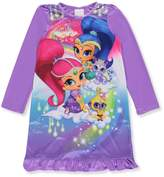 Nickelodeon Nick Jr Shimmer And Shine Rainbow Genies Nightgown for girls