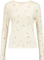 Kain Label Edith printed cotton and modal-blend jersey top