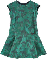 Kenzo Mini Me jacquard dress
