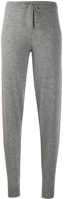 Parker Chinti & side stripe knit joggers