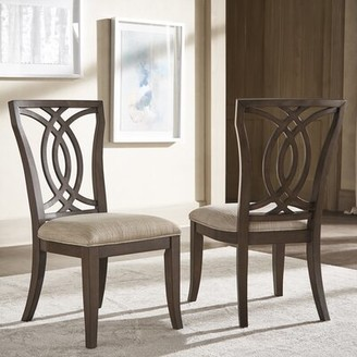 Canora Grey Lechlade Queen Anne Back Side Chair in Beige