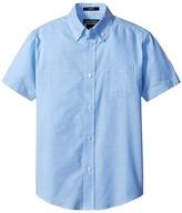 Nautica Husky Short Sleeve Oxford Shirt (Big Kids)