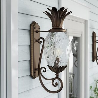 Beachcrest Home Terry 3-Light Outdoor Wall Lantern