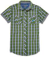 USPA U.S. Polo Assn. Short Sleeve Button-Front Shirt Boys