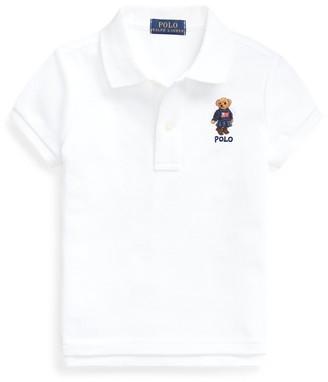Ralph Lauren Jumper Bear Cotton Mesh Polo