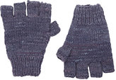 The Elder Statesman Women's Cashmere Fingerless Gloves-GREY