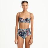 J.Crew Underwire bikini top in Ratti® Under the Sea print
