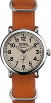 Shinola 41mm Runwell Watch, Camel