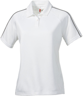 Clique White Canberra Lady Polo - Plus Too