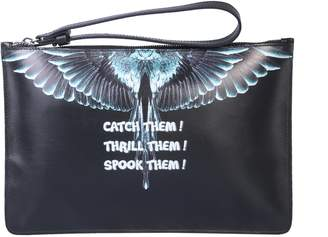 Marcelo Burlon County of Milan Leather Clutch