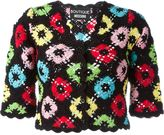 Moschino crochet cropped cardigan - women - Cotton - 42