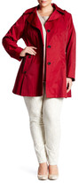 Via Spiga Scarpa Hooded Raincoat (Plus Size)