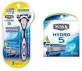 Schick Hydro 5 Razor Handle with 8-Count Refill
