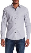Slate & Stone Thomas Striped Long Sleeve Trim Fit Shirt
