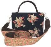 Simitri - Winter Rose Briefcase Bag
