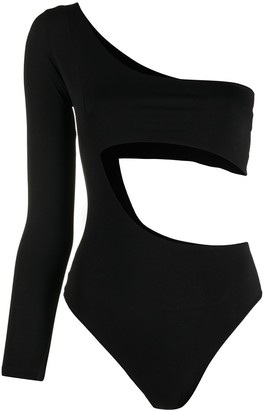 Alchemy Asymmetric Cut-Out Bodysuit