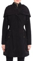 Laundry by Shelli Segal Women's Pillow Collar Raincoat