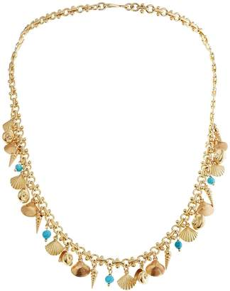 Ileana Makri EYE M by Sea Bed Necklace - Yellow Gold