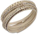 Swarovski Slake Goldtone Crystallized Bracelet