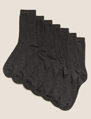 Marks and Spencer 7 Pack of Ankle School Socks
