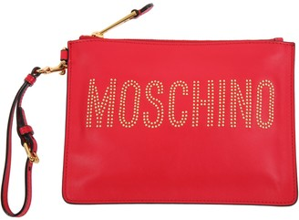 Moschino Leather Lined Pouch