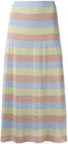 Moschino striped skirt