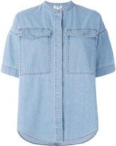 Kenzo boxy chambray shirt - women - Cotton/Polyester - 36