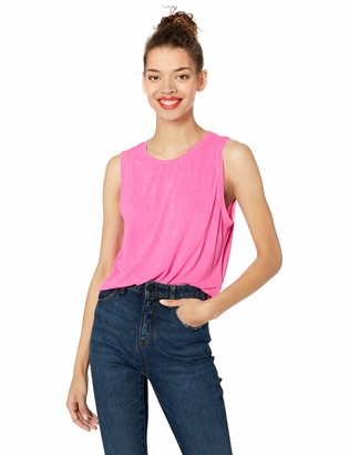Betsey Johnson Women's Split Back Muscle Tank
