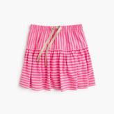 J.Crew Girls' double-stripe pull-on skirt