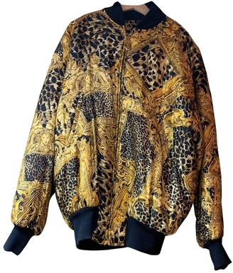 Genny Multicolour Silk Jacket for Women Vintage