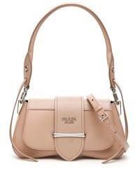 Prada Sidonie Buckled Shoulder Bag