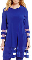 IC Collection Round-Neck A-Line Tunic
