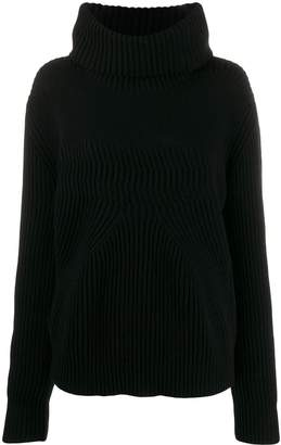 Pinko roll-neck chunky knit jumper