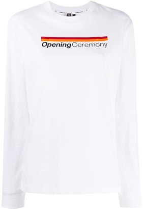 Opening Ceremony logo printed T-shirt