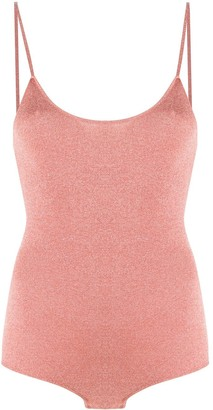 Stella McCartney Metallic Threading Bodysuit