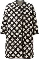 Antonio Marras grid print coat