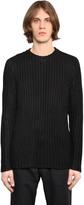 Denham Jeans Cotton Rib Knit Sweater