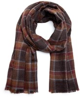 Sole Society Lightweight Plaid Scarf