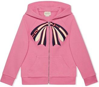 Gucci Kids Children's sweatshirt with Gucci stripe