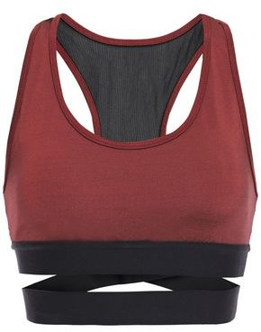 Koral Romance Cutout Stretch Sports Bra
