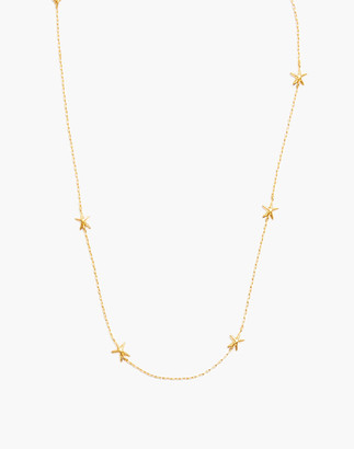 Madewell Starfish Chain Necklace