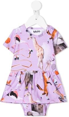 Molo Made For Motion printed dress