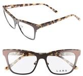 L.A.M.B. Women's 51Mm Optical Cat Eye Glasses - Brown