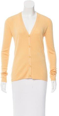 Prada V-Neck Button-Up Cardigan